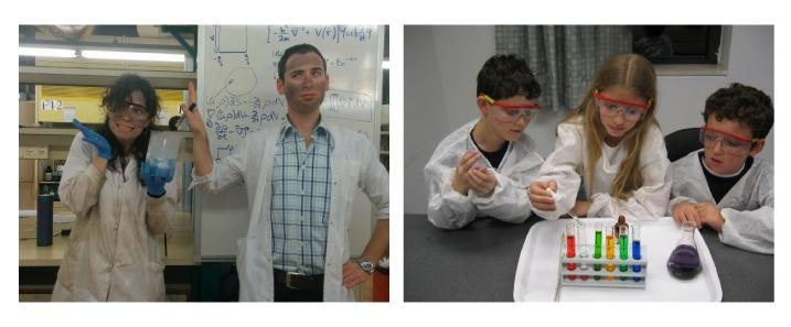 למידה חוויתית בנוער שוחר מדע